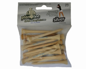 18 Plantees, header card Silver (size: 2 3/4